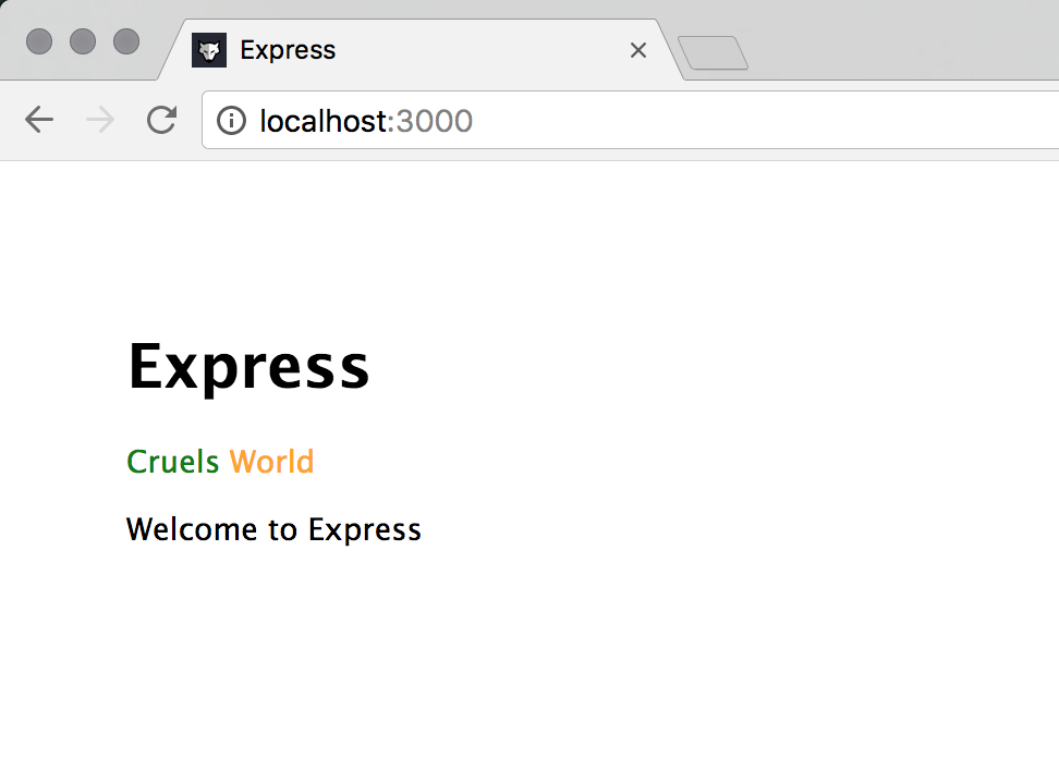 Using Vue Components in your Express app